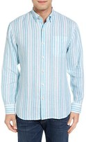 Tommy Bahama Men's Pintado Stripe Standard Fit Sport Shirt
