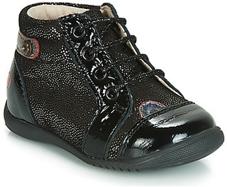 GBB NICOLE girls's Shoes (High-top Trainers) in Black