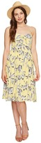 BB Dakota Joss Printed Front Tie Dress Women's Dress