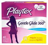 Playtex Gentle Glide Unscented Regular - 40 count