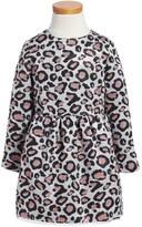 Little Marc Jacobs Leopard Spot Party Dress (Toddler Girls, Little Girls & Big Girls)