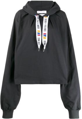Pyer Moss Reebok By x oversized hoodie