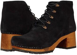 Sanita Ulla (Black) Women's Shoes