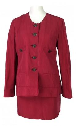 Sonia Rykiel Red Linen Jacket for Women
