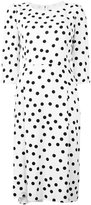 Dolce & Gabbana polka-dot shift dress - women - Silk/Cotton/Polyamide/Viscose - 40