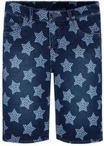 Levi's Girls 7-16 Supersoft Star Jean Bermuda Shorts