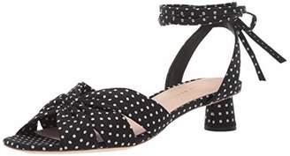 Loeffler Randall Women's LEIA-CTN Heeled Sandal 9 Medium US
