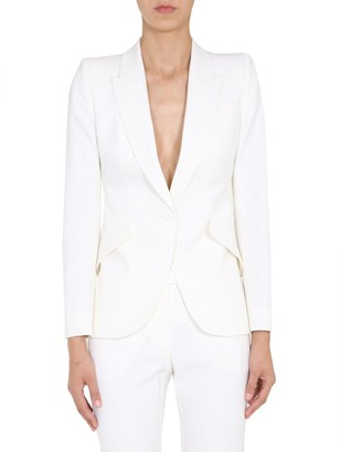 Alexander McQueen Single Breasted Blazer