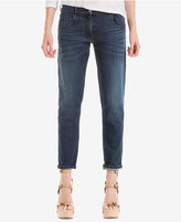 Max Studio London Indigo Wash Boyfriend Jeans