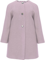 navabi Plus Size A-line wool coat