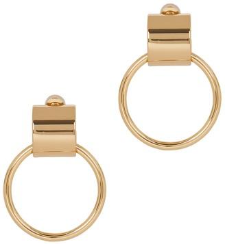 Jenny Bird Faye 14kt gold-dipped hoop earrings