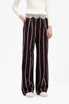 French Connection Freddy Stripe Coord Wide Leg Pants