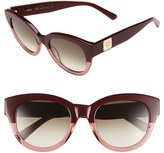 MCM Women's 53Mm Cat Eye Sunglasses - Bordeaux/ Antique Rose