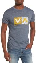 RVCA Men's Wavy Box T-Shirt