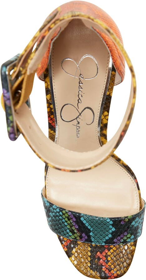 Thumbnail for your product : Jessica Simpson Caytie Ankle Strap Sandal