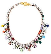 Shourouk Multicolor Crystal Collar Necklace