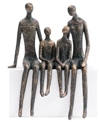 Persora - Family Of Four Shelf Sitter Sculpture