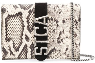 Just Cavalli snakeskin 'STCA' belt bag