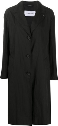 Calvin Klein Button-Down Coat