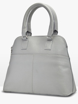 Oxford Stacey Zip Top Leather Bag