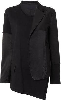 Y's Deconstructed Asymmetric Jacket