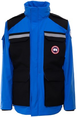 Canada Goose Zipped Retractable Hood Jacket