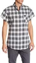 Zanerobe Rugger Plaid Cut Sleeve Regular Fit Shirt