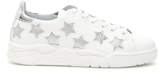 Chiara Ferragni Glitter Star Sneakers