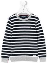 Tommy Hilfiger Junior stripped knitted jumper