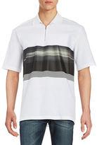 Plac Striped Cotton-Blend Polo