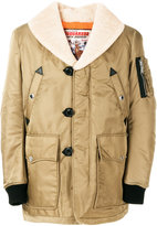 DSQUARED2 padded shearling jacket