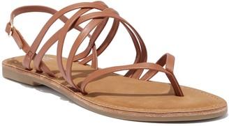 New York & Co. Crisscross-Strap Thong Sandal