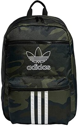 adidas Originals National 3-Stripes Backpack (Onix Jersey/Black) Backpack Bags
