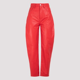 ATTICO High Rise Tapered Pants