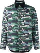 MAISON KITSUNÉ camouflage print jacket