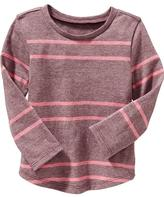 Old Navy Rounded-Hem Long-Sleeve Tee for Baby
