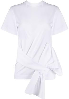 Victoria Victoria Beckham tie-waist T-shirt