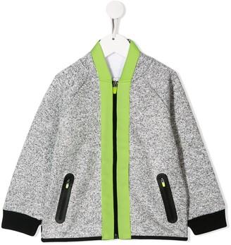 Stella Mccartney Kids Neon Stripe Bomber Jacket