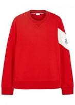 Moncler Gamme Bleu Red Cotton Sweatshirt