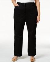 Karen Scott Plus Size Twill Pants, Only at Macy's