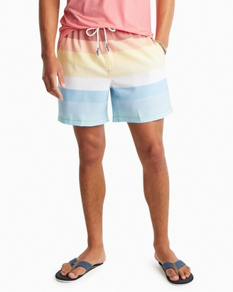 Southern Tide Galley Striped Swim Trunks