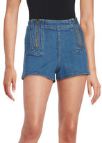 Free People High-Waist Jean Shorts