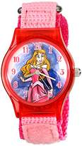 Disney Kids' W001702 Sleeping Beauty Analog Display Analog Quartz Watch