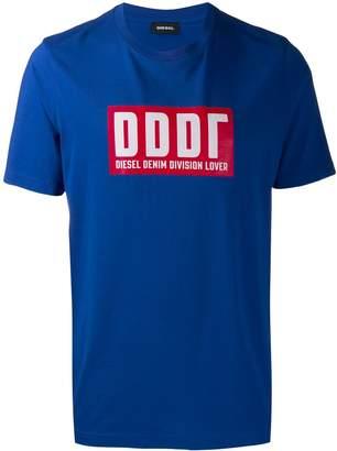 Diesel DDDR logo print T-shirt