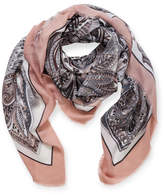 Gregory Ladner LARGE SQUARE PAISLEY SCARF