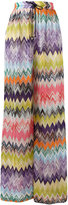 Missoni zig zag flared trousers