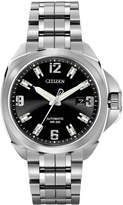 Citizen Men's Automatic Grand Touring Eco-Drive Stainless Steel Bracelet Watch 44mm NB0070-57E