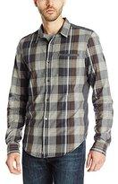 Buffalo David Bitton Men's Sihurk Long Sleeve Plaid Woven Shirt