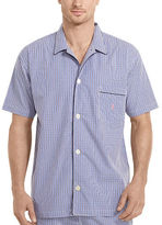 Polo Ralph Lauren Checked Cotton Pajama Shirt