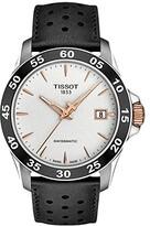 Tissot V8 Swissmatic - T1064072603100 (Silver/Black) Watches